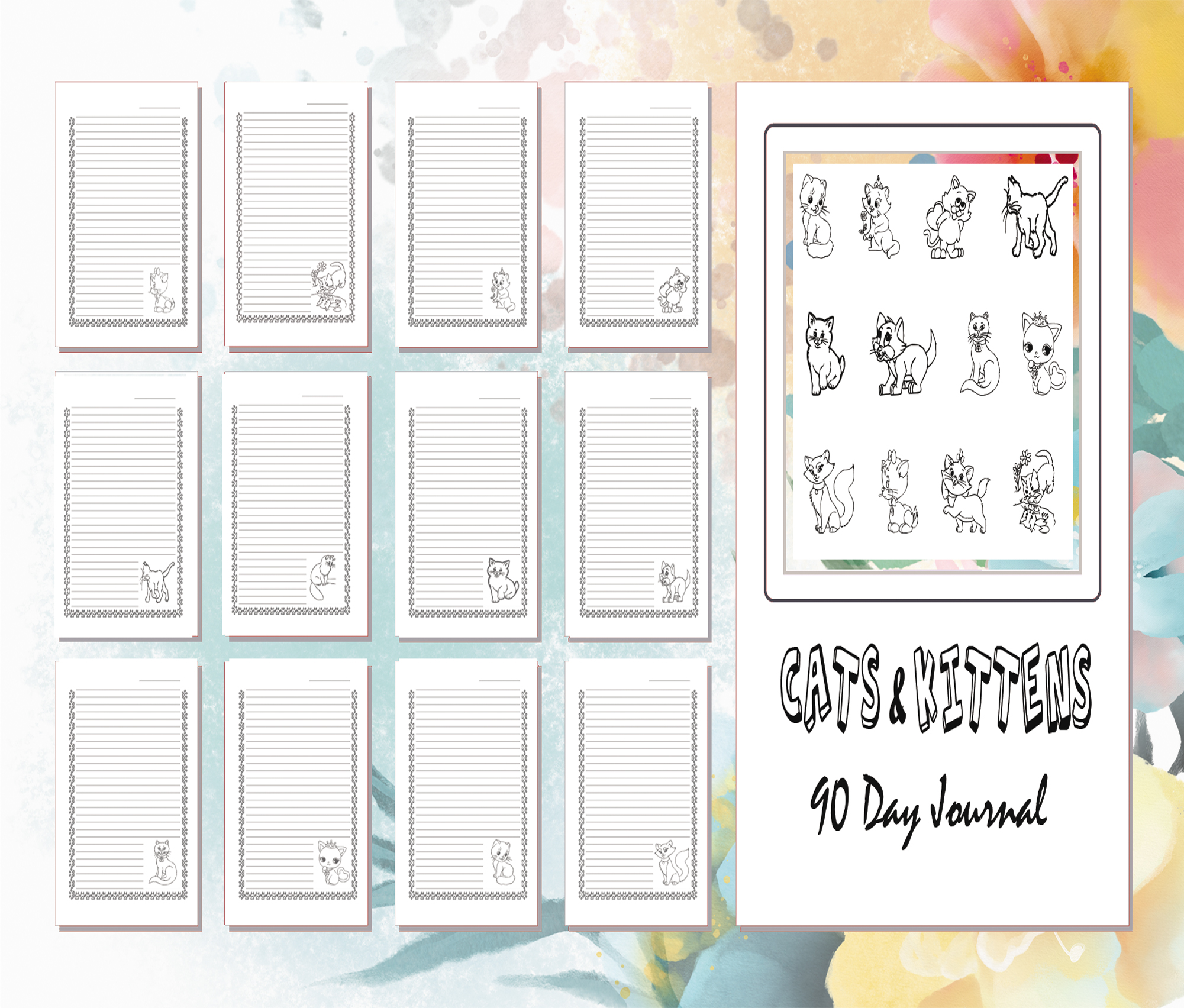 cats and kittens journal
