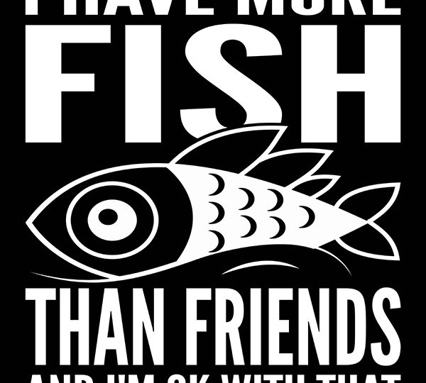 More Fish Than Friends Print On Demand Package