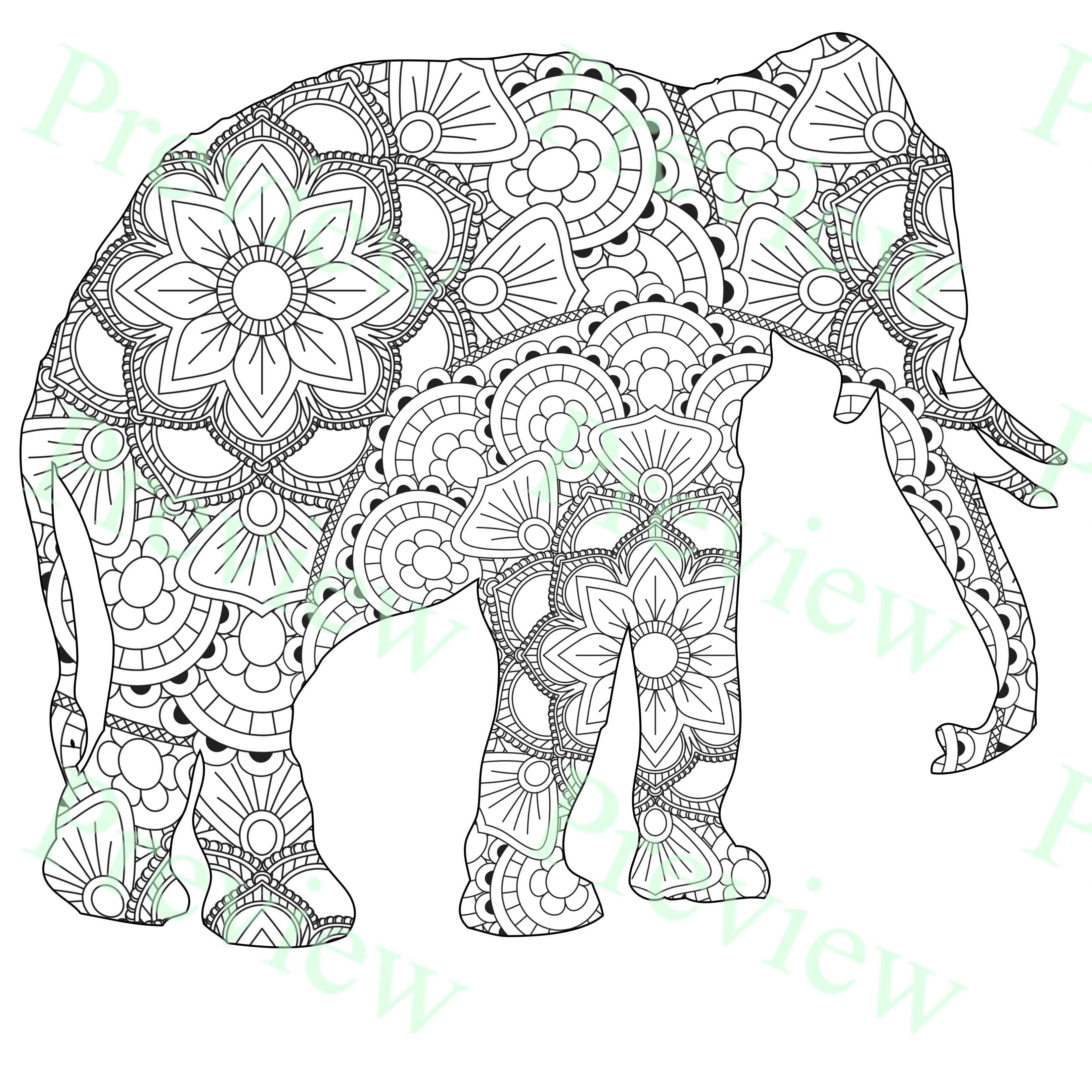 Free Tie Dye Coloring Pages, Download Free Clip Art, Free Clip Art ... | 3300x3300