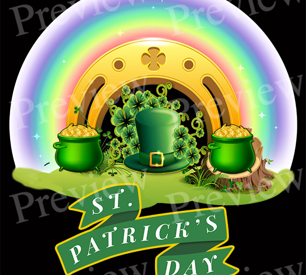 St. Patrick's Day Rainbow POD Package