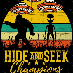 Alien Bigfoot Champions Print On Demand Package